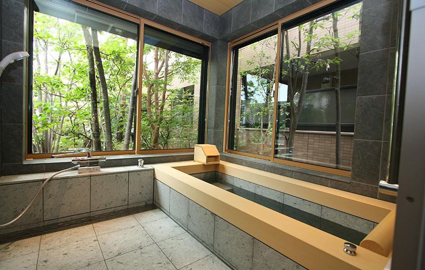 あの旅館のお風呂を、我が家に再現する