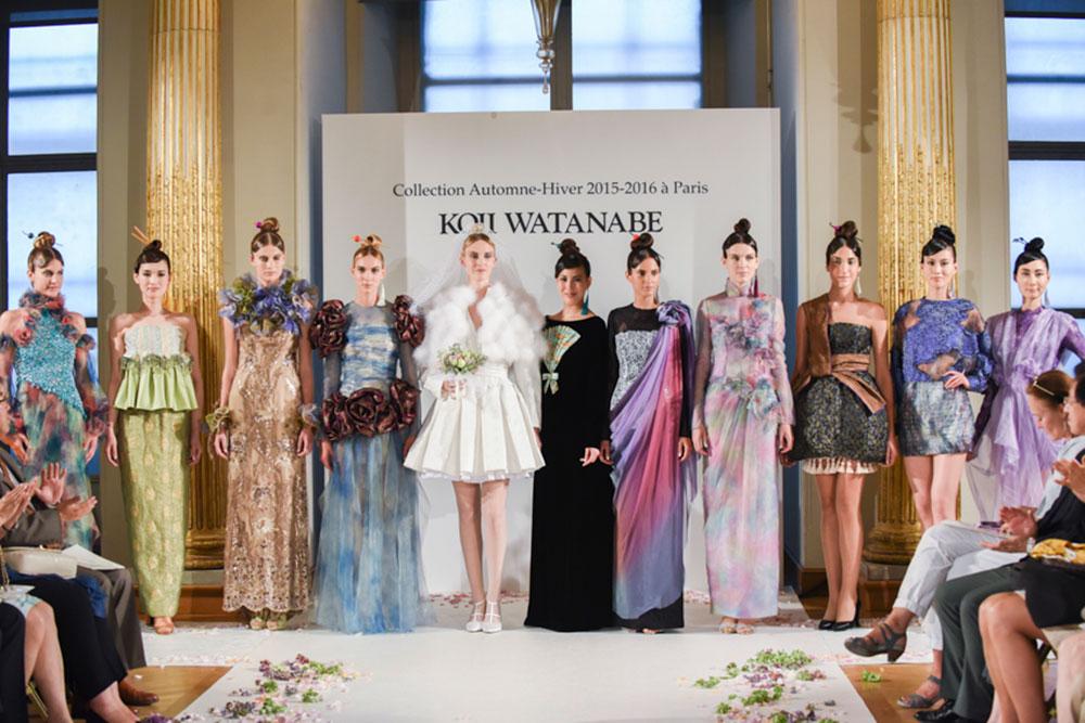 KOJI WATANABE 2015-2016AW オートクチュール・パリコレクション