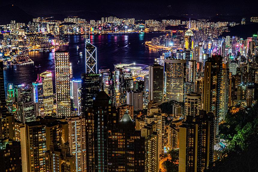 中華人民共和国のM&A香港ビクトリアピーク