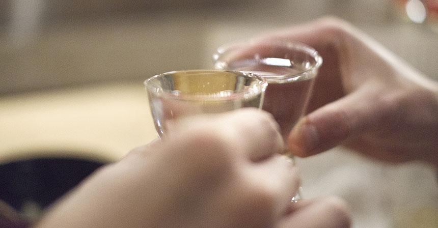 副業の構想 日本酒で乾杯